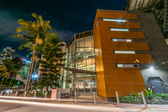 Brisbane Multicultural Arts Centre (stephenk1977) Tags: building architecture night nikon centre arts australia brisbane qld queensland multicultural kangaroopoint d3300