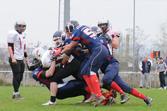 20160403_Avalanches Annecy Vs Falcons Bron (20 sur 51) (calace74) Tags: france annecy sport foot division falcons bron amricain avalanches rgional