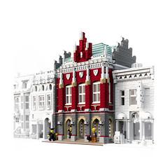 High School (looooookl) Tags: school architecture high lego modular