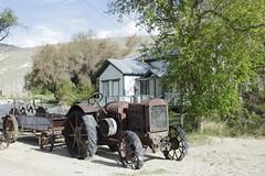 tractor (sierraue1) Tags: historic preserve hotsprings oldwest bentonhotsprings oldtractor oldwesttown