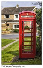 British Telephone Box (Paul Simpson Photography) Tags: red spring village phonebooth icon communication kiosk iconic telephonebox callbox britishtelecom northlincolnshire photosof imageof photoof britishicon scawby imagesof sonya77 paulsimpsonphotography