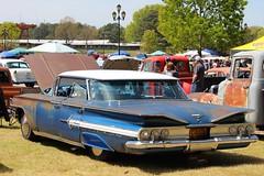 1959 Chevy Impala (osubuckialum) Tags: show blue cars chevrolet nc rusty northcarolina raleigh chevy hotrod annual custom impala carshow 59 patina 1959 goodguys northcarolinastatefairgrounds northcarolinanationals psychocustoms