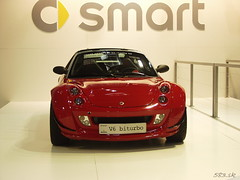 P6024288 (Pn Marek - 583.sk) Tags: 2005 two smart four for brno v6 roadster brabus fortwo biturbo for4 bvv for2 autosaln fotogalria