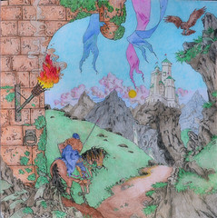 2016-04-15 (11) 'A Game of Thrones' coloring book (JLeeFleenor) Tags: fiction art fun photography book bowie perception md photos literary maryland hobby coloring imagination bowiemd stressrelief agameofthrones fantssy coloringbbo