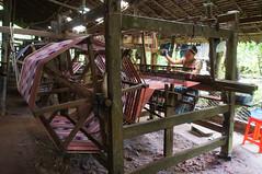 Weaving factory at Bilugyun, Mawlamyine (Michael Chow (HK)) Tags: myanmar bilugyun myanmarburma monstate mawlamyine chaungzon