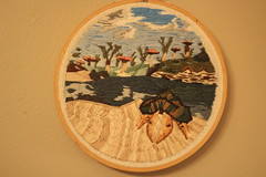 The Elder Scrolls III Morrowind mudcrab embroidery (thenotionsbox) Tags: art handmade embroidery crafts videogames gaming morrowind mudcrab elderscrolls