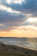 Tottori sunset (Lost_In_Bokeh) Tags: sunset beach tottori japanesesea