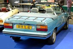 AMC RENAULT Alliance 1.7L Convertible - 1985 (xavnco2) Tags: show blue classic cars club automobile convertible renault exposition autos amc bourse alliance bleue cabriolet arras 2016 r9 anciens vehicules ravera6a