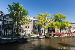 Idyll of Amsterdam (villeah) Tags: house netherlands amsterdam architecture canal thenetherlands houseboat nl northholland