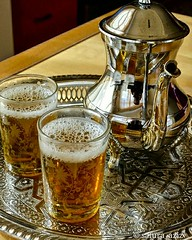 Moroccan louiza tea (safura.aziz) Tags: tea morocco teapot herbal lemonverbena