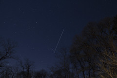International Space Stations's Cape Cod Flyover (brucetopher) Tags: blue light night stars star darkness nightshot satellite astrophotography planet planets astronomy flyover iss lighttrail internationalspacestation
