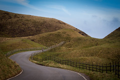 Winding Road (liamhancox1) Tags: road sky grass clouds corner fence district peakdistrict curves peak flowing tor mam steep mamtor widing