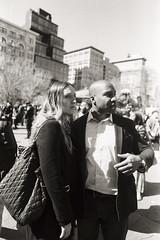 AA015 (heavyasmountains) Tags: nyc newyorkcity blackandwhite slr film 35mm photography nikon candid streetphotography noflash 24mm fm3a filmphotography streetstyle