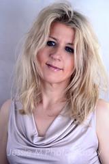 Studio Portrait (Jessie M Photography) Tags: lighting portrait woman colour girl jessie fashion studio photography makeup m blonde backdrop jessiemphotography