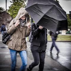 April-S***-Weather (Street Photography candid) Tags: girls berlin rain weather bad streetphotography rainy april regen wetter candidportrait schiet