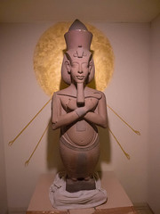 Akhenaten (melastmohican) Tags: california old travel sculpture art history archaeology statue stone temple us carved ancient king unitedstates antique famous religion egypt culture sanjose landmark nile egyptian pharaoh amenhotep akhenaten amenophis amarna akhetaten