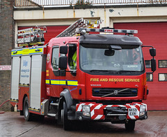 NK59EXN (firepicx) Tags: uk rescue fire volvo pump northumberland service british emergency nk59exn