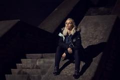 Marie (KristjanJ) Tags: light portrait girl dark model tallinn estonia natural dramatic ambient environment fade linnahall alanwalker