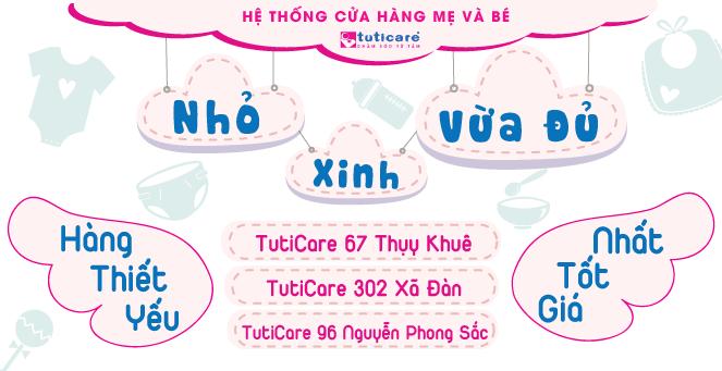 """[TutiCare] """"Nhỏ, Xinh, Vừa Đủ"""""""