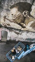 Russian Artist | Julia Volchkova in Kuala Lumpur (wazari) Tags: camera art wall photography graffiti nikon mural chinatown artist photographer julia russia graffity malaysia putrajaya photojournalist behindthescene thephotographer thephotographers volchkova travelphotographer jurufoto malaysiaphotojournalist wazari wazariwazir ahlifotografi malaysianphotojournalist juliavolchkova malaysanphotographer