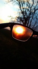 perspective (springlovers) Tags: sunset sky sun tree nerd nature sunshine clouds sunrise glasses sonnenuntergang natur perspective brille baum perspektive abendrot sonnenlicht blickwinkel