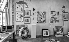 StPaulArtCrawl2016_46333-.jpg (Mully410 * Images) Tags: blackandwhite art monochrome studio stpaul 2016 artcrawl niksilverefexpro