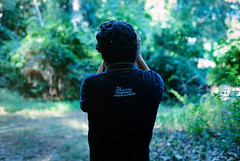 The Power of Imagination Makes Us Infinite (A Screaming Comes Across the Sky) Tags: portrait film analog 35mm kodak grain 400 tc konica analogue autoreflex ultramax