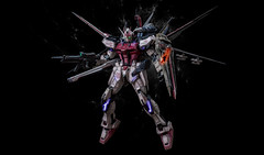 Master Grade - Strike Rogue (Finchzero) Tags: anime mobile japan toy photography robot photo model manga battle grade hobby plastic suit master figure strike kit rogue gundam mecha mech bandai