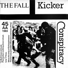 The Fall - Kicker Conspiracy (1983) (stillunusual) Tags: fall artwork vinyl single record 1983 1980s sleeve thefall aside recordcover markesmith roughtrade picturesleeve kickerconspiracy