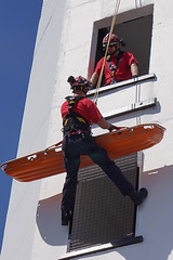 Tower Rescue (McTumshie) Tags: england rescue tower unitedkingdom firemen ropes firestation croydon firebrigade openday abseil londonfirebrigade lfb 1may2016