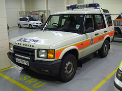 British Transport Police Land Rover discovery (David Russell UK) Tags: car transport police rover land vehicle british discovery response btp