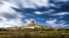 Mdina: The Old Capital City Of Malta (glank27) Tags: city travel sky blur history canon landscape photography eos is ancient cityscape capital malta usm efs mdina f3556 70d hoyand400 1585mm