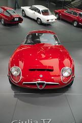 DSC_1149 (BarttLee) Tags: italy car italia alfa romeo alfaromeo macchina tz giulia zagato arese tz1