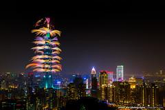 2016101 Taipei 101 New Year Fireworks (olvwu | ) Tags: fireworks taiwan newyear taipei taipei101   explode newyeareve firecracker    2016 101 jungpangwu oliverwu oliverjpwu  101 olvwu taipei101tower taipei101skyscraper 101 jungpang