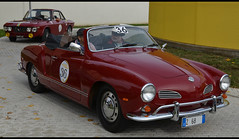 VOLKSWAGEN KARMANN GHIA Cabriolet (baffalie) Tags: vw auto voiture ancienne vintage classic old car coche retro classicas expo muse musum italia italie italian modena sport worldcars