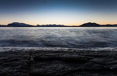 Just-before (Rolland - Tomas) Tags: blue winter sea seascape water coast vinter shell winterlight hav harstad landskap kyst skjell vågsfjorden