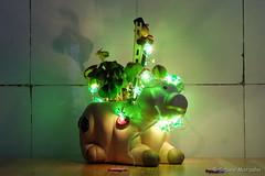 Lucky Piggy fr Christina (Sockenhummel) Tags: green piggy fuji sylvester fortune finepix fujifilm grn shamrock neujahr schwein x30 glcksklee glcksbringer glcksschwein inunsererkche fujix30