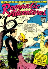 Romantic Adventures 5 (Michael Vance1) Tags: woman man art love comics marriage romance lovers dating comicbooks relationships cartoonist anthology silverage