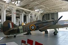 Z5140 HAWKER HURRICANE DUXFORD AVIATION MUSEUM (toowoomba surfer) Tags: museum aviation hurricane wwii preserved raf hawker aviationmuseum