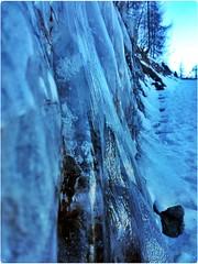 frozen waterfall II (kaleidoskopspeicher) Tags: mountain outdoor berge ontour eiskristalle icecristals