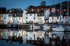 41/365 Weymouth Twlight - 366 Project 2 - 2016 (dorsetpeach) Tags: dark evening boat twilight lowlight harbour yacht cottage 365 weymouth relfection weymouthharbour 2016 366 aphotoadayforayear 366project second365project