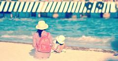 Riviera Maya (Luz Adriana Villa A.) Tags: beach girl de mom asian mexico nikon riviera maya daughter mother yucatan playa mama q peninsula pequeña madre roo hija quintana asiatica luza luzadrianavilla luzavilla d3100 mothersdaydiadelamadre