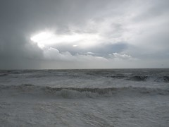 fading storm porthleven (Moonrise Landing) Tags: sea sky storm cornwall porthleven