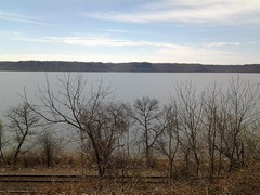 No One in Site (Thomas S. McDonald) Tags: lake wi deserted railroadtracks pepin pepincounty lakepepin