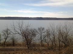 No One in Site (Thomas S. McDonald) Tags: lake wi deserted railroadtracks pepin pepincounty lakepepin