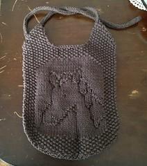 Horse Bib (Alynxia) Tags: horse baby knitting gifts cotton bibs