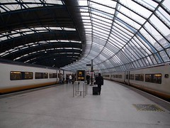 002 Eurostars. Waterloo International 2006. Photographer unknown (Clementinos2009) Tags: eurostar waterloointernational railtrailtours stasfurtberlinsteamtour2006