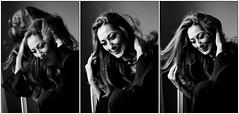 Farah (Hasse Linden) Tags: portrait woman smile hair retrato naturallight laugh ritratto farah portrtt