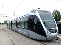 Toulouse - Tramway (IngolfBLN) Tags: france frankreich tram toulouse lightrail streetcar tramway öpnv hautegaronne strasenbahn tisseo