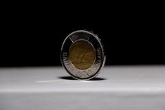 Two canadian dollars view... (koshiri) Tags: 2 two money canadian dolars monnai